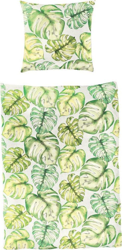 Bettwäsche Verde Bierbaum Mit Blättern Kaufen Otto
