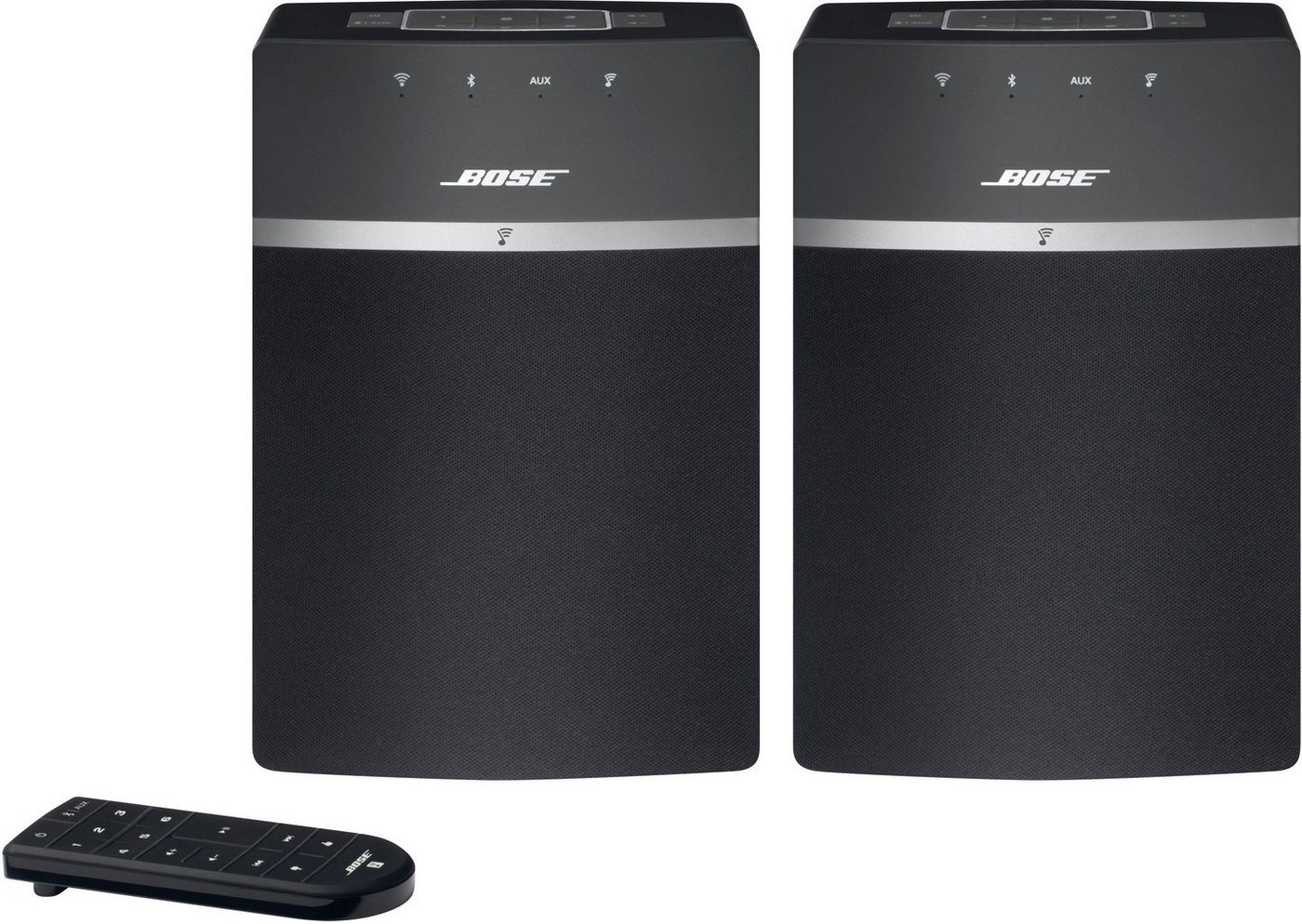 BOSE Soundtouch 10X2 Kit Wireless Starter Multiroom Lautsprecher in Schwarz
