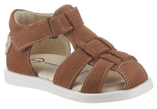 Steiff »Atlaas_New« Sandale mit hellen Ziernähten
