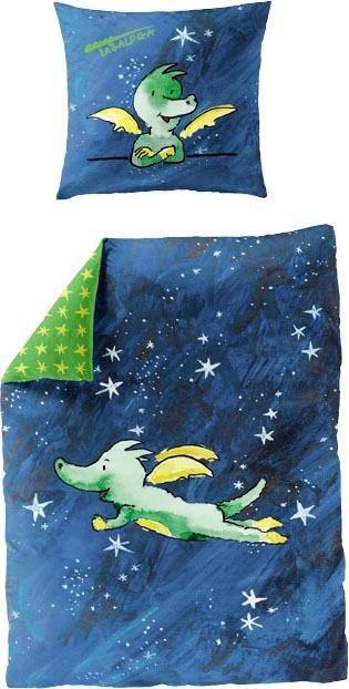 Kinderbettwäsche »Himmel«, TABALUGA, mit Tabaluga | Kinderzimmer > Textilien für Kinder > Kinderbettwäsche | Blau | TABALUGA