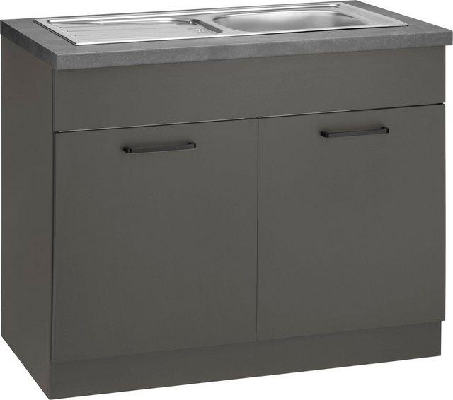 Küchenschränke - wiho Küchen Spülenschrank »Esbo« 100 cm breit  - Onlineshop OTTO