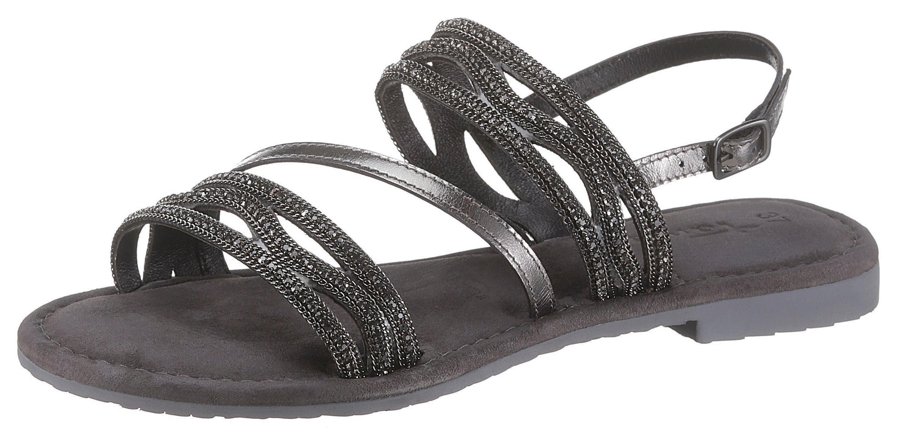 Tamaris »Minu« Sandale mit aufwendiger Verzierung | OTTO