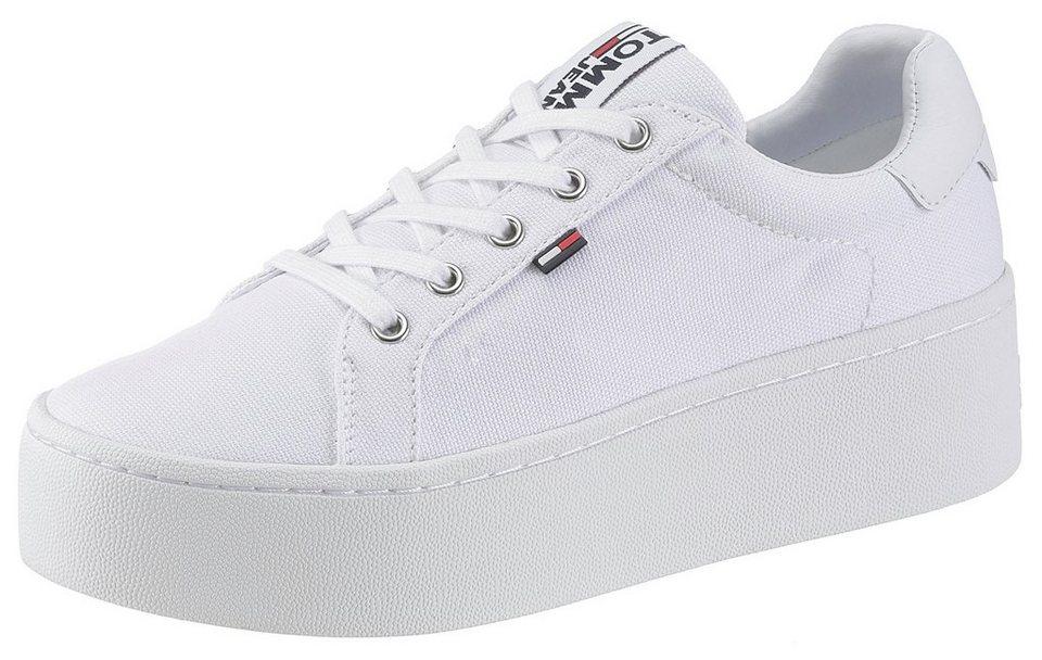 0f35f7f2cefa TOMMY JEANS »Roxie« Plateausneaker mit Schnürsenkeln mit Tommy Jeans Logo