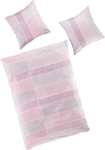 Bettwäsche »Erno«, BIERBAUM, mit Muster