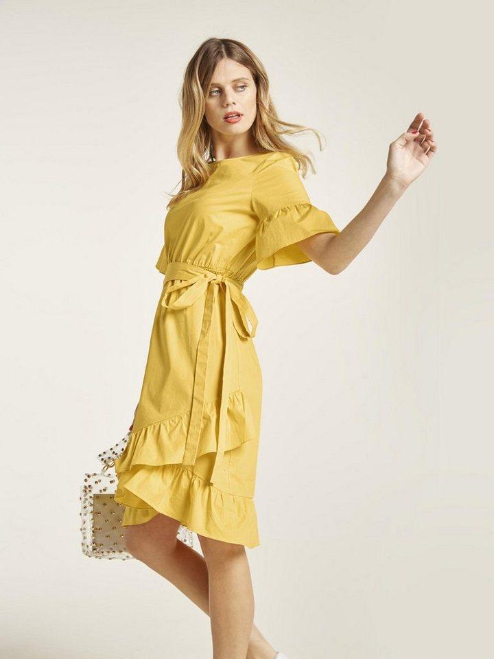f56862e3c94616 heine STYLE Kleid mit Volants online kaufen | OTTO