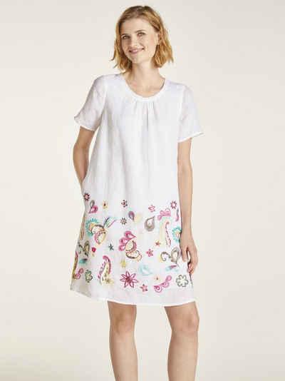 16f0c9ff9b935d heine CASUAL Kleid mit Stickerei und Nahttaschen
