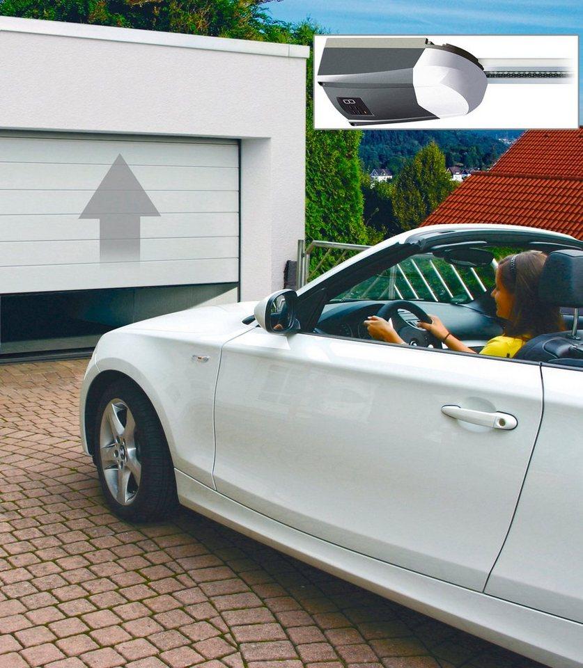 SCHELLENBERG Set: Garagentor BxH: 237,5 x 212,5 cm, weiß | Baumarkt > Garagen und Carports > Garagentore | Weiß | SCHELLENBERG