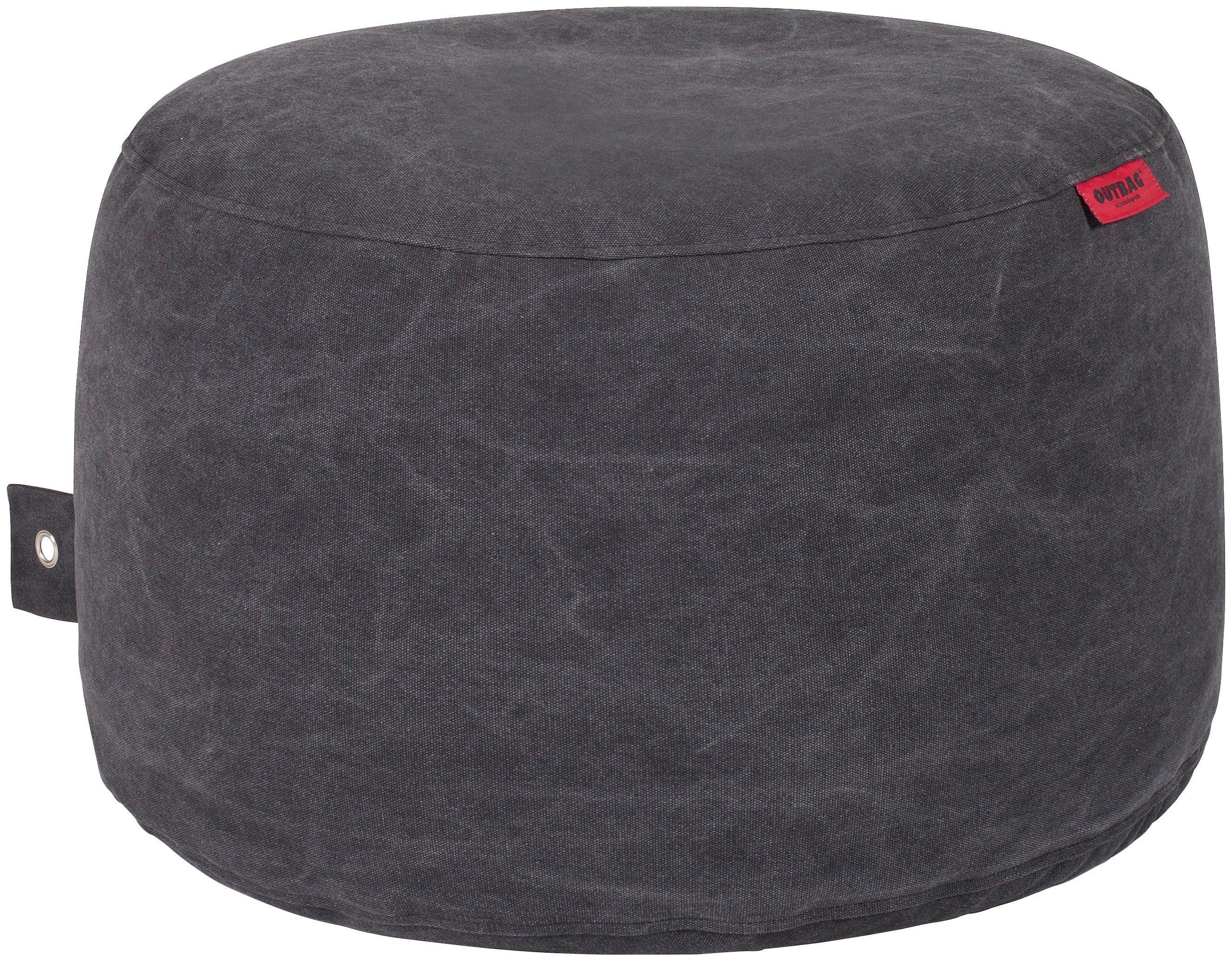OUTBAG Sitzsack »Rock Canvas«, wetterfest, für den Außenbereich, Ø: 60 cm