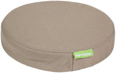 OUTBAG Auflage »Disc pillow PLUS«, wetterfest und robst, für den Außenbereich, Ø: 45 cm