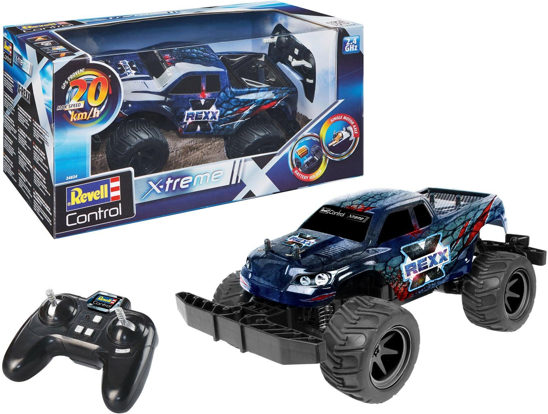 Revell RC Auto, »Revell® control, X-treme X-Rexx, 2,4 GHz«