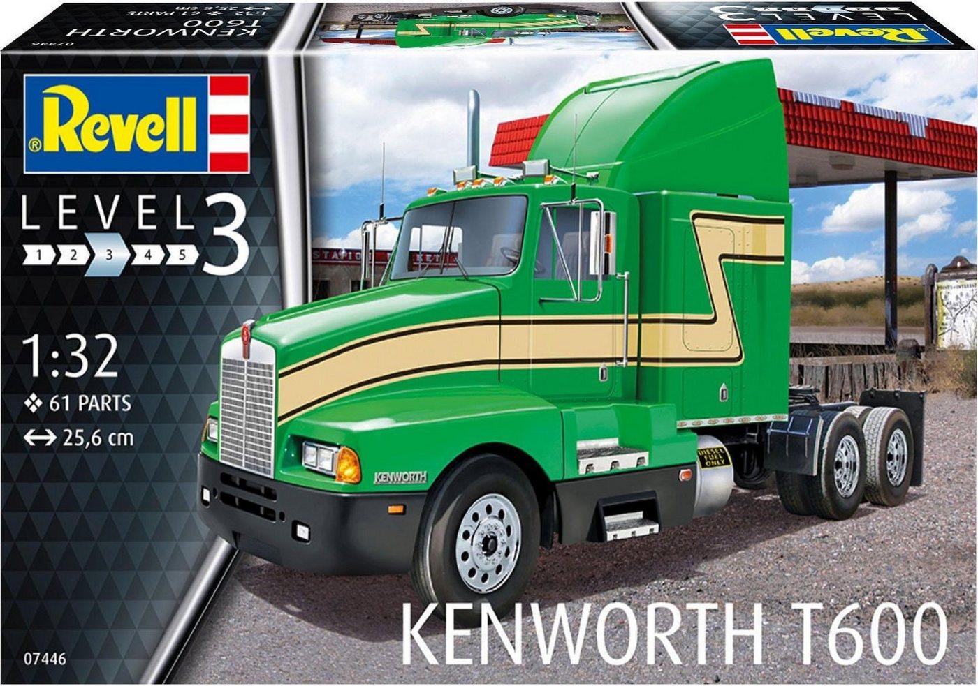Revell Modellbausatz LKW, Maßstab 1:32, »Kenworth T600«