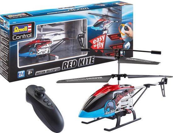 Revell® RC-Helikopter »Revell® control, Red Kite«, mit LED-Beleuchtung
