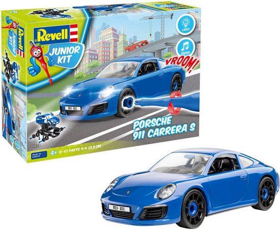 Revell® Modellbausatz »Junior Kit Porsche 911 Carrera S«, Maßstab 1:20, (Set), Made in Europe