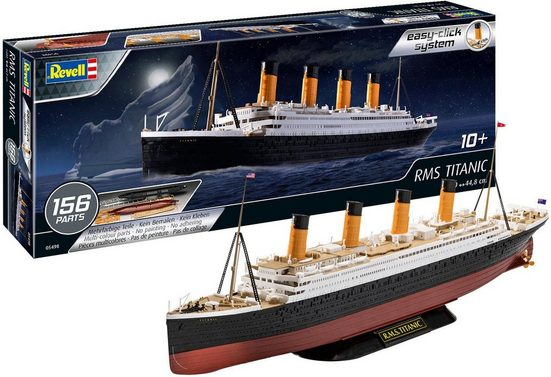Revell® Modellbausatz »easy-click RMS TITANIC«, Maßstab 1:600, Made in Europe
