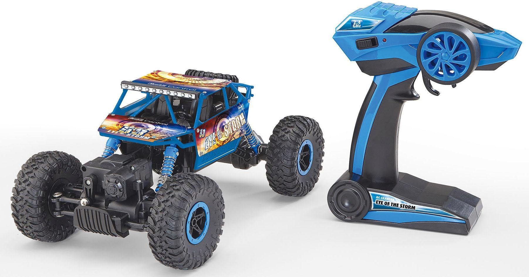 Revell RC Auto, »Revell® control, Technik, RC Crawler Eye Of The Storm, 2,4 GHz, 1:18«