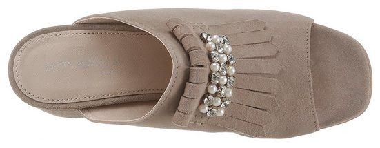 Mit Schmuckapplikation Shoes Eleganter Pantolette Betty Barclay OqXtwx5U