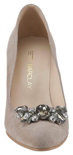 Mit Eleganter Pumps Schmuckapplikation Barclay Shoes Betty qRtv0fc