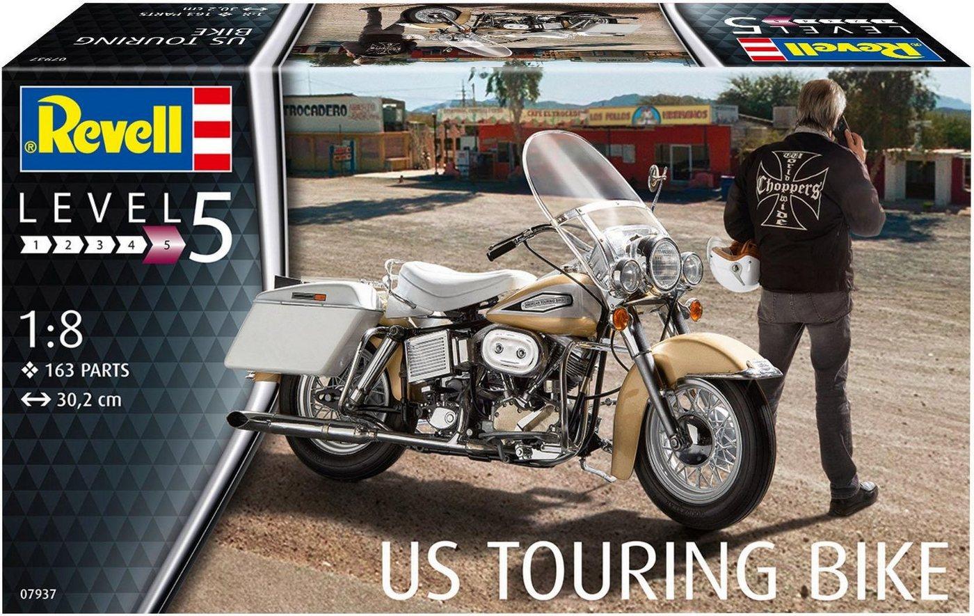 Revell Modellbausatz Motorrad, Maßstab 1:8, »Model Set US Touring Bike«
