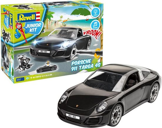 Revell® Modellbausatz »Junior Kit Porsche 911 Targa 4S«, Maßstab 1:20, Made in Europe