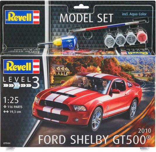 Revell® Modellbausatz »Model Set 2010 Ford Shelby GT500«, Maßstab 1:25, (Set)