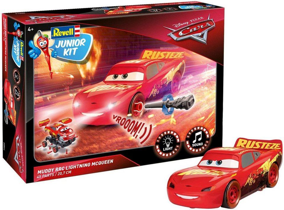 Revell Modellbausatz Junior Kit Disney Pixar Cars Muddy Rrc Lightning Mcqueen Maßstab 120 45 Tlg Auto Lichtsound Maßstab 120 Online