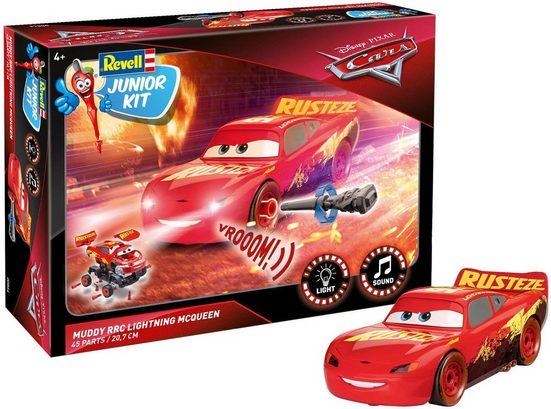 Revell® Modellbausatz »Junior Kit Disney Pixar Cars, Muddy RRC Lightning McQueen«, Maßstab 1:20