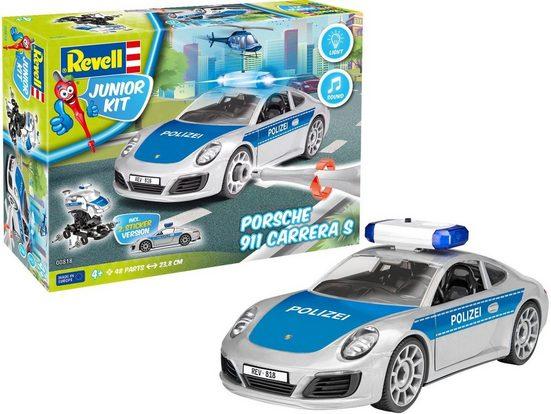 Revell® Modellbausatz »Junior Kit Porsche 911 Polizei«, Maßstab 1:20, Made in Europe