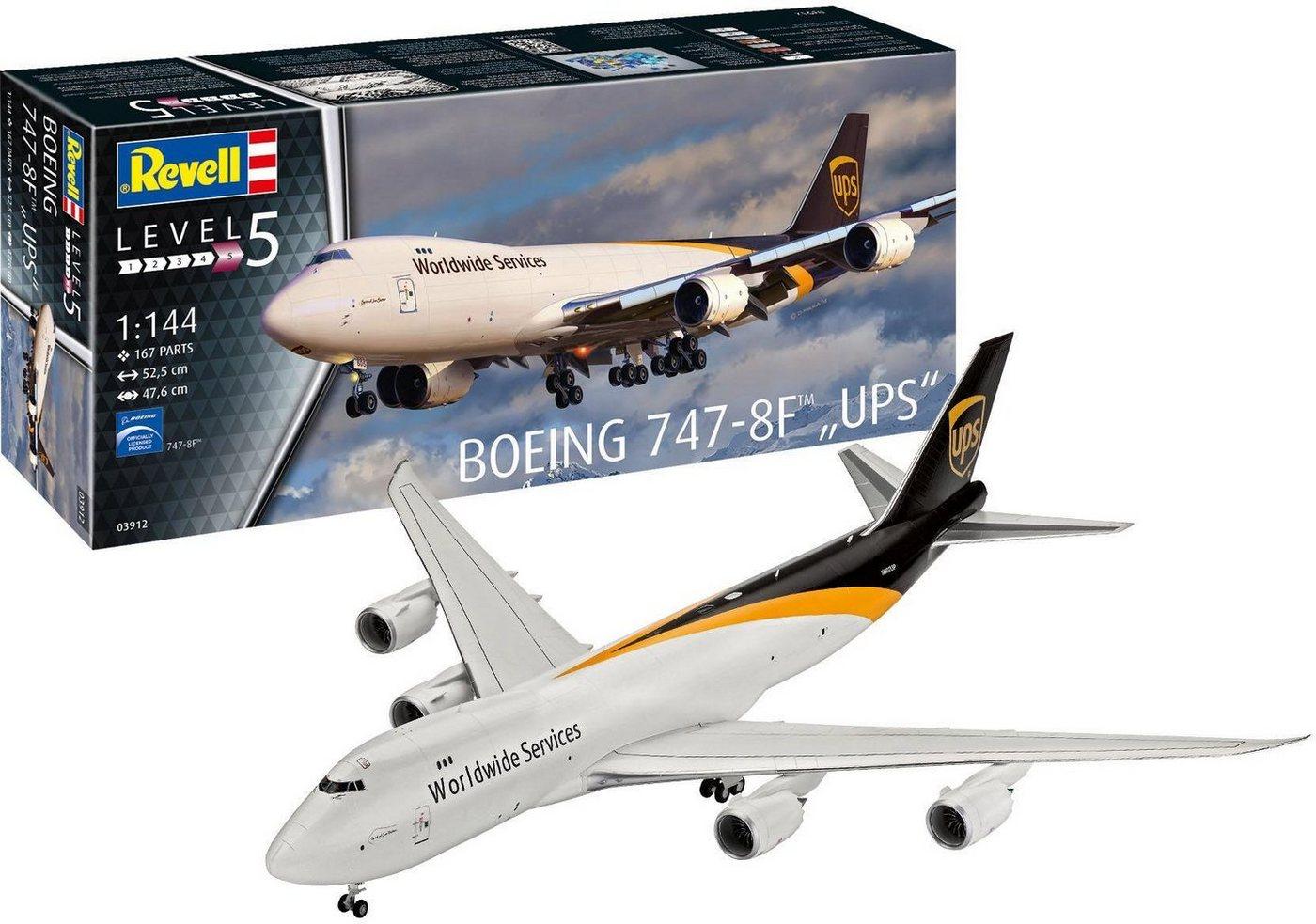 Revell Modellbausatz Flugzeug, Maßstab 1:144, »Boeing 747-8F UPS«