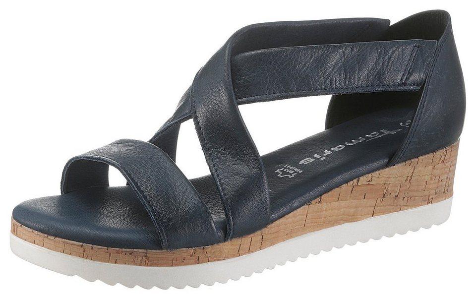 1a0f63e08b Tamaris Sandale mit Kreuz-Bandage online kaufen   OTTO