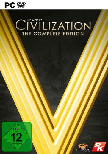 Civilization V - The Complete Edition PC, Software Pyramide