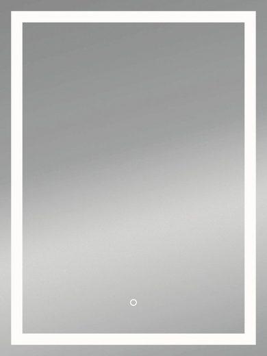 KRISTALLFORM Spiegel »FrameLight II«, 50 x 70 cm, LED