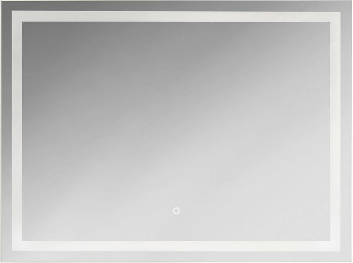 KRISTALLFORM Spiegel »FrameLight III«, 80 x 60 cm, LED