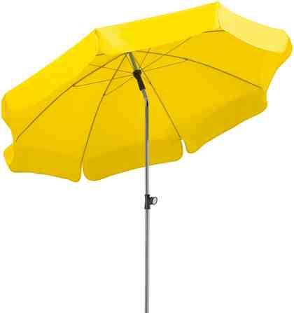 SCHNEIDER SCHIRME Sonnenschirm »Locarno«, Ø 200 cm, ca. 160 g/m², ohne Schirmständer