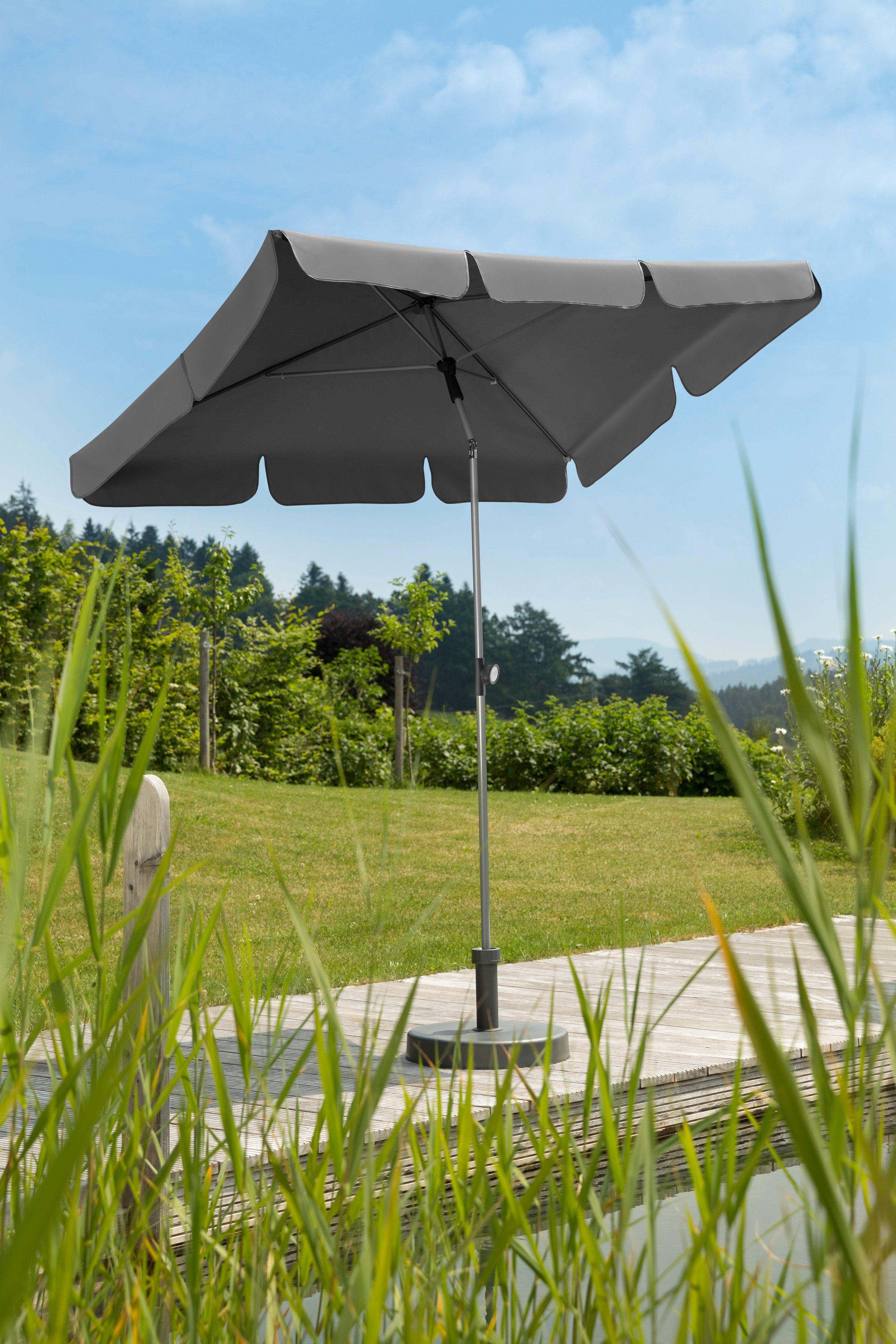 SCHNEIDER SCHIRME Rechteckschirm »Locarno«, 180 x 120 cm, ca. 160 g/m², ohne Schirmständer