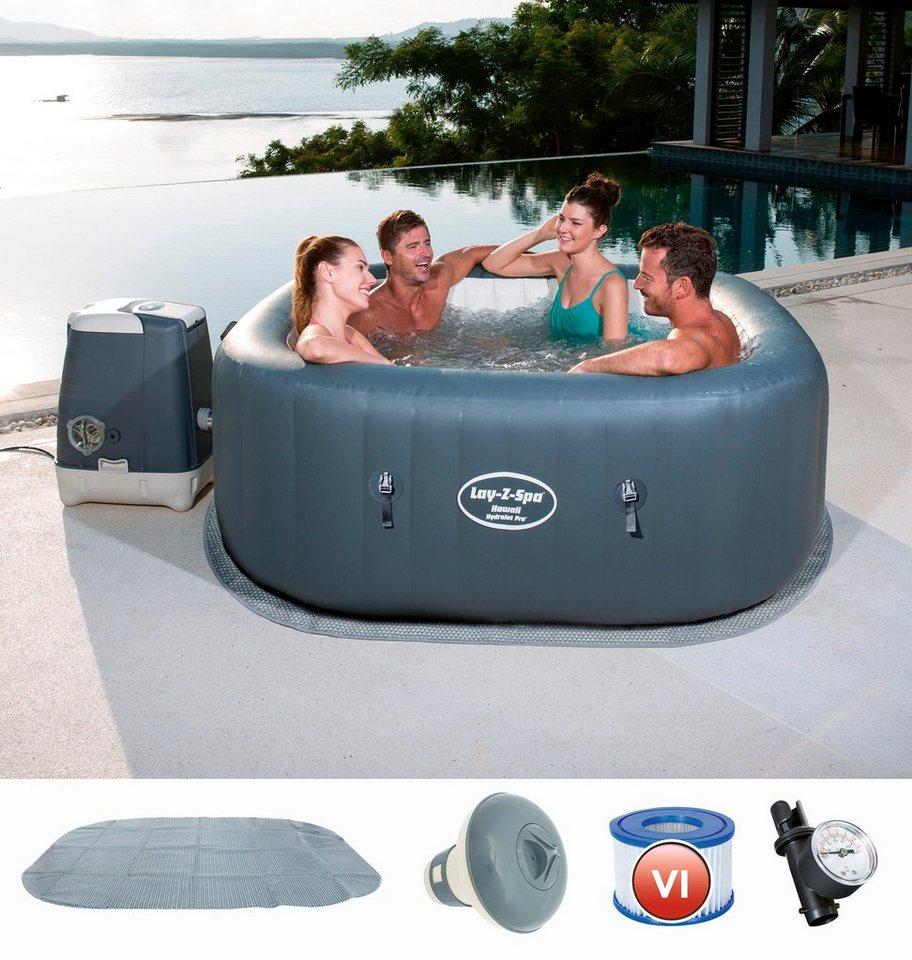 Bestway Set Whirlpool Lay Z Spa Hawaii Hydrojet Pro 5 Tlg