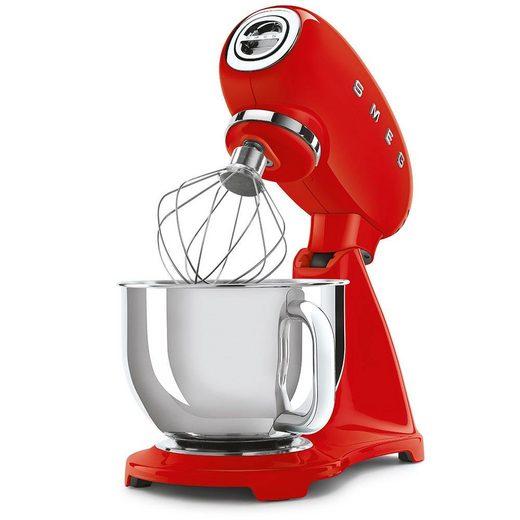 Smeg Küchenmaschine SMF03RDEU, 800 W, 4,8 l Schüssel