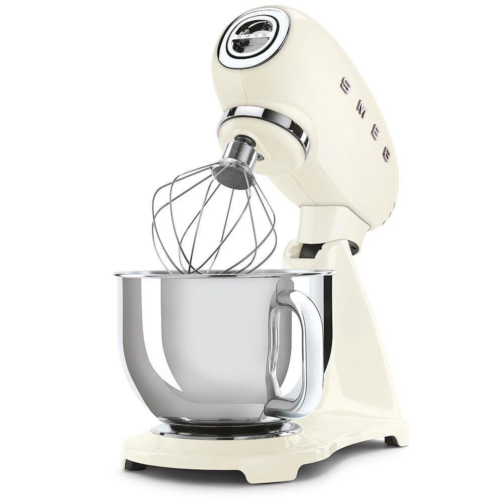 Smeg Küchenmaschine SMF03CREU, 800 W, 4,8 l Schüssel