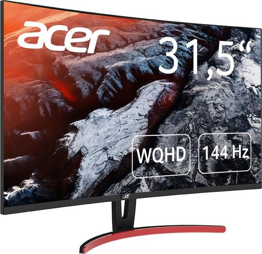 Acer ED323QUR Curved-Gaming-LED-Monitor (2560 x 1440 Pixel, WQHD, 4 ms Reaktionszeit, 144 Hz)