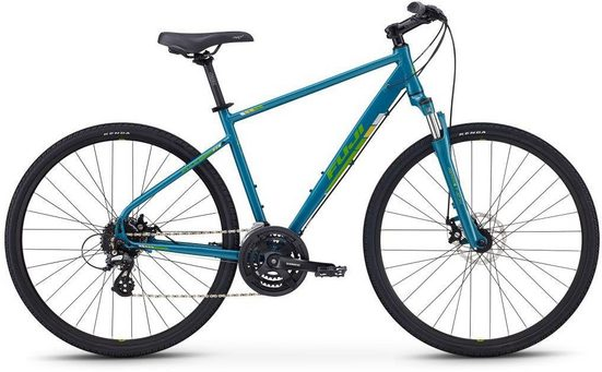 FUJI Bikes Fitnessbike »TRAVERSE 1.5 DISC«, 24 Gang Shimano Altus Schaltwerk, Kettenschaltung