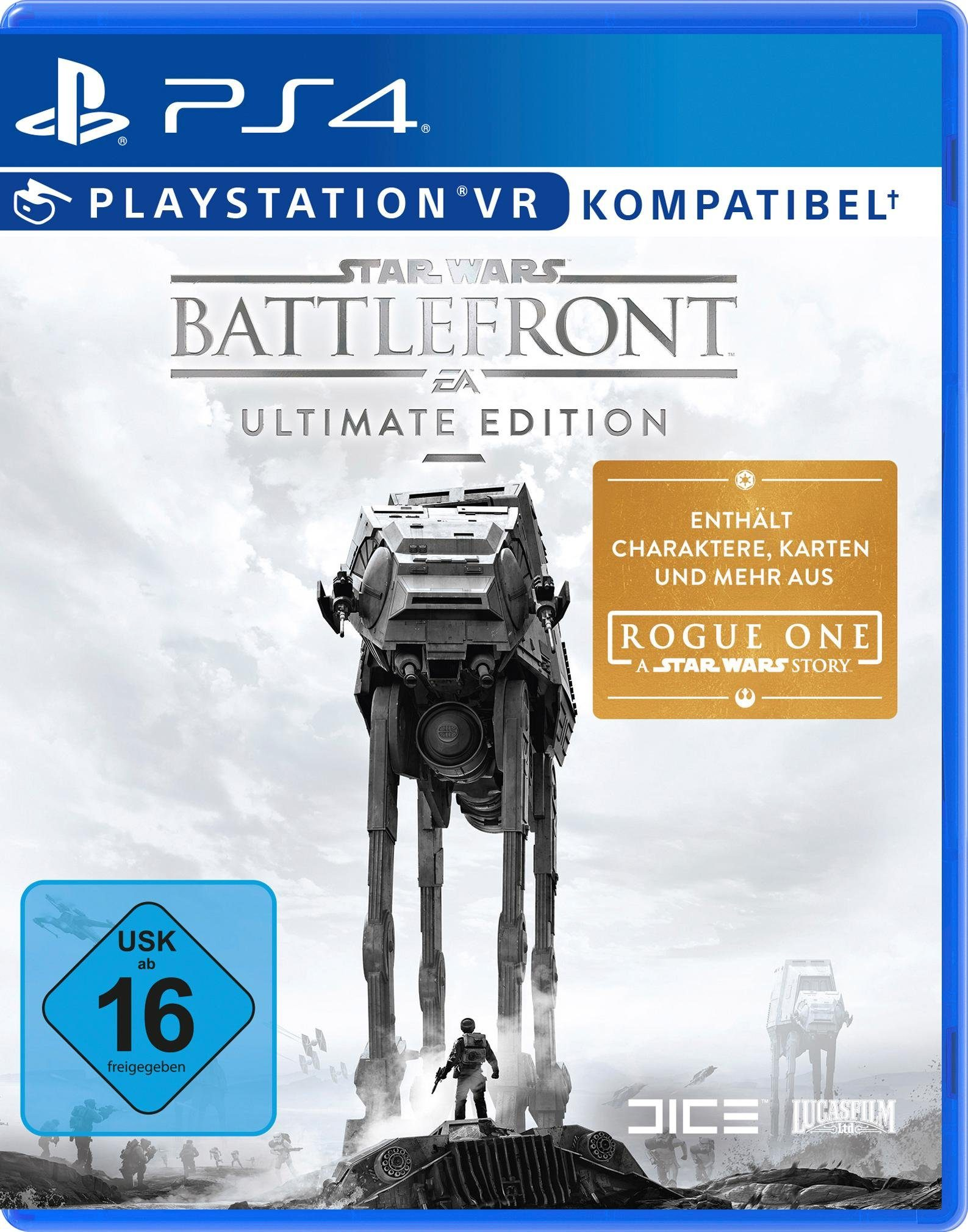 Star Wars Battlefront - Ultimate Edition PlayStation 4, Software Pyramide