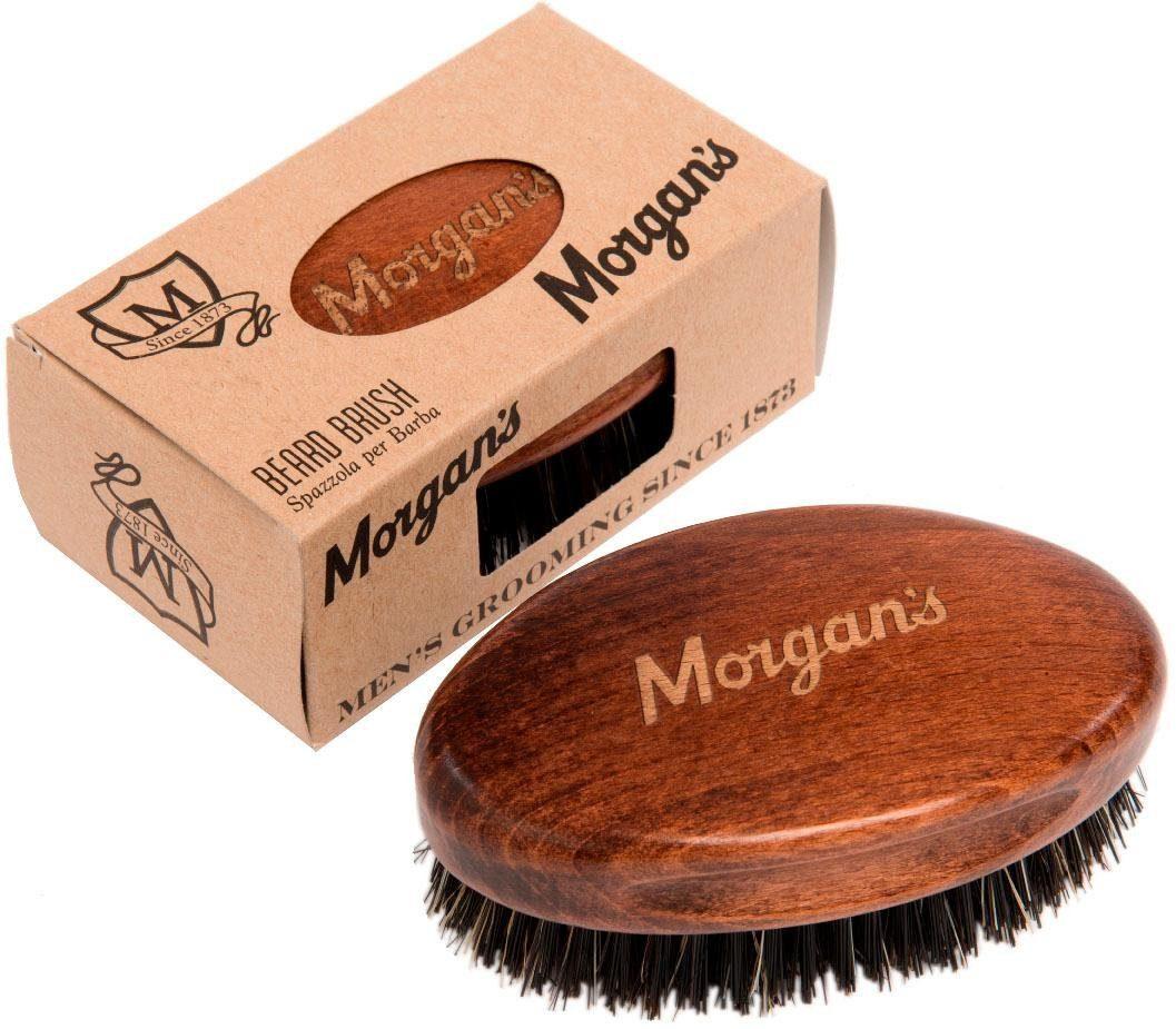 Morgan's Bartbürste »Beard Brush groß«, im Military Style