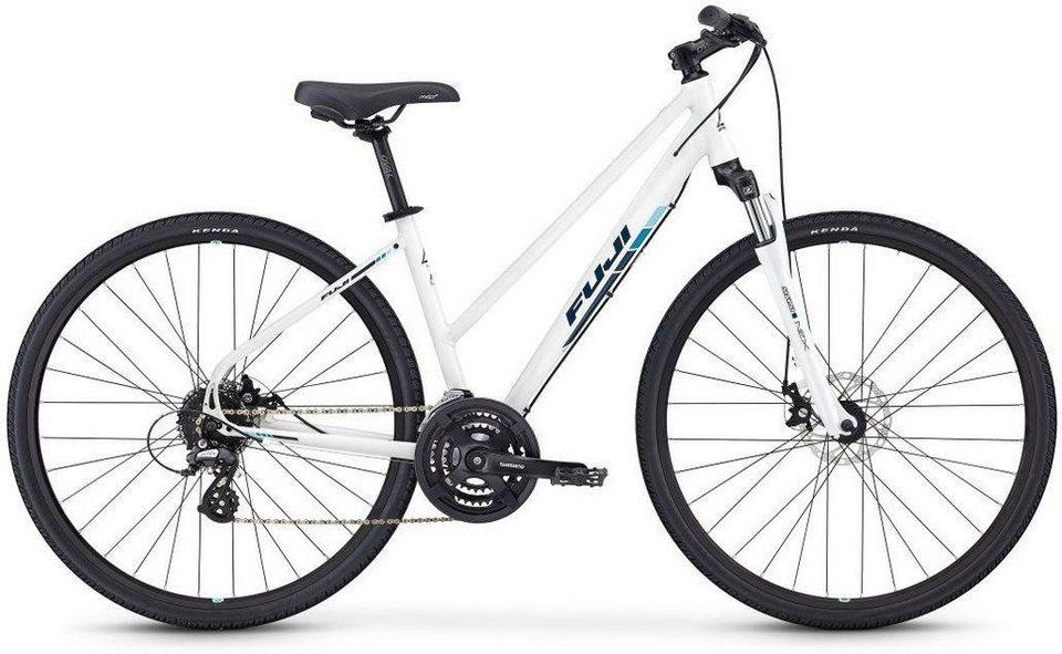 FUJI Bikes Fitnessbike »TRAVERSE 1.5 DISC ST«, 24 Gang