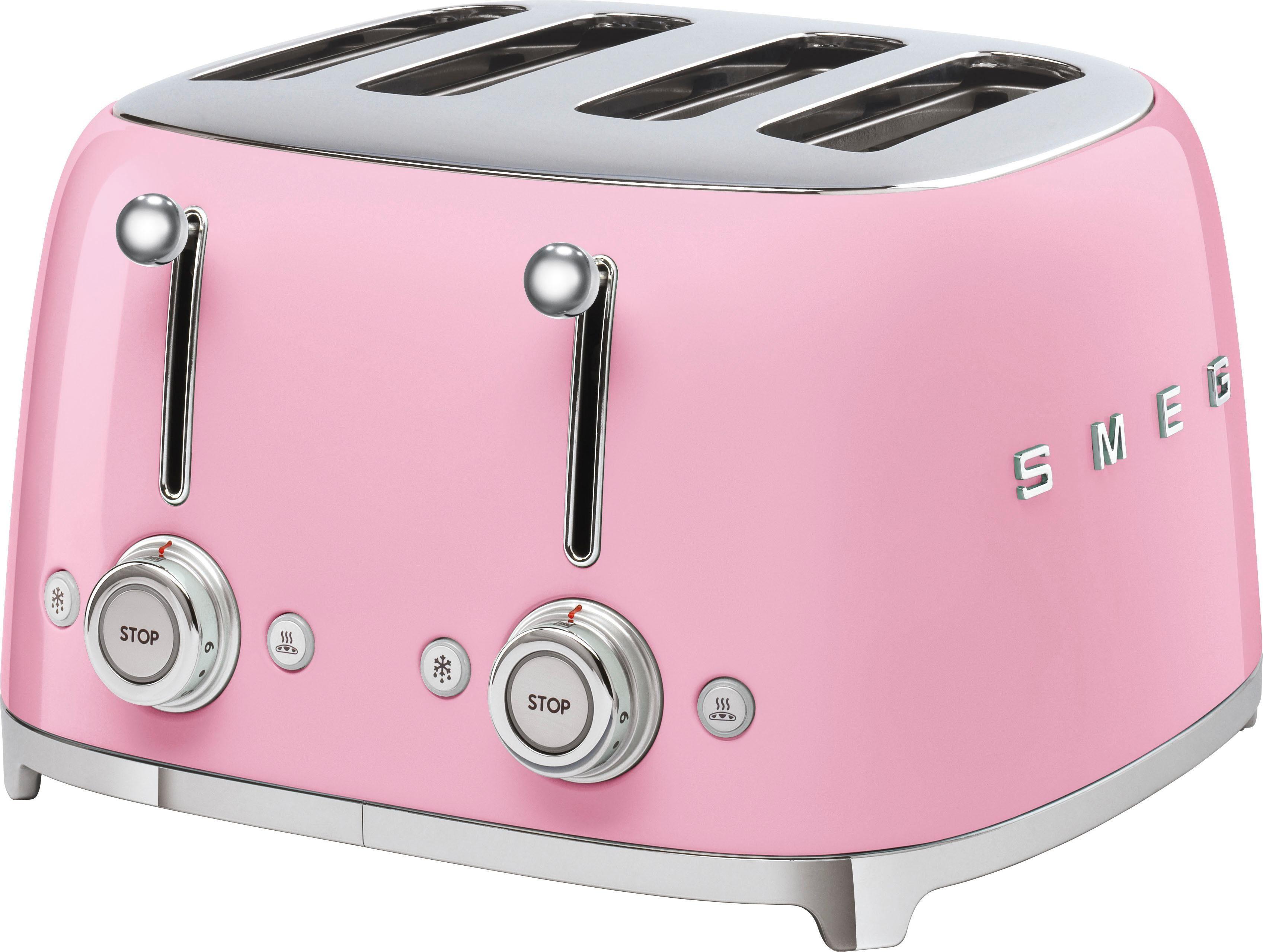 Smeg Kühlschrank Otto : Smeg toaster tsf pkeu kurze schlitze w otto