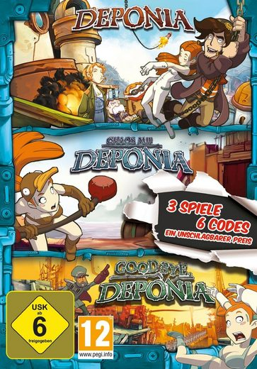 Deponia Family Pack PC, Software Pyramide