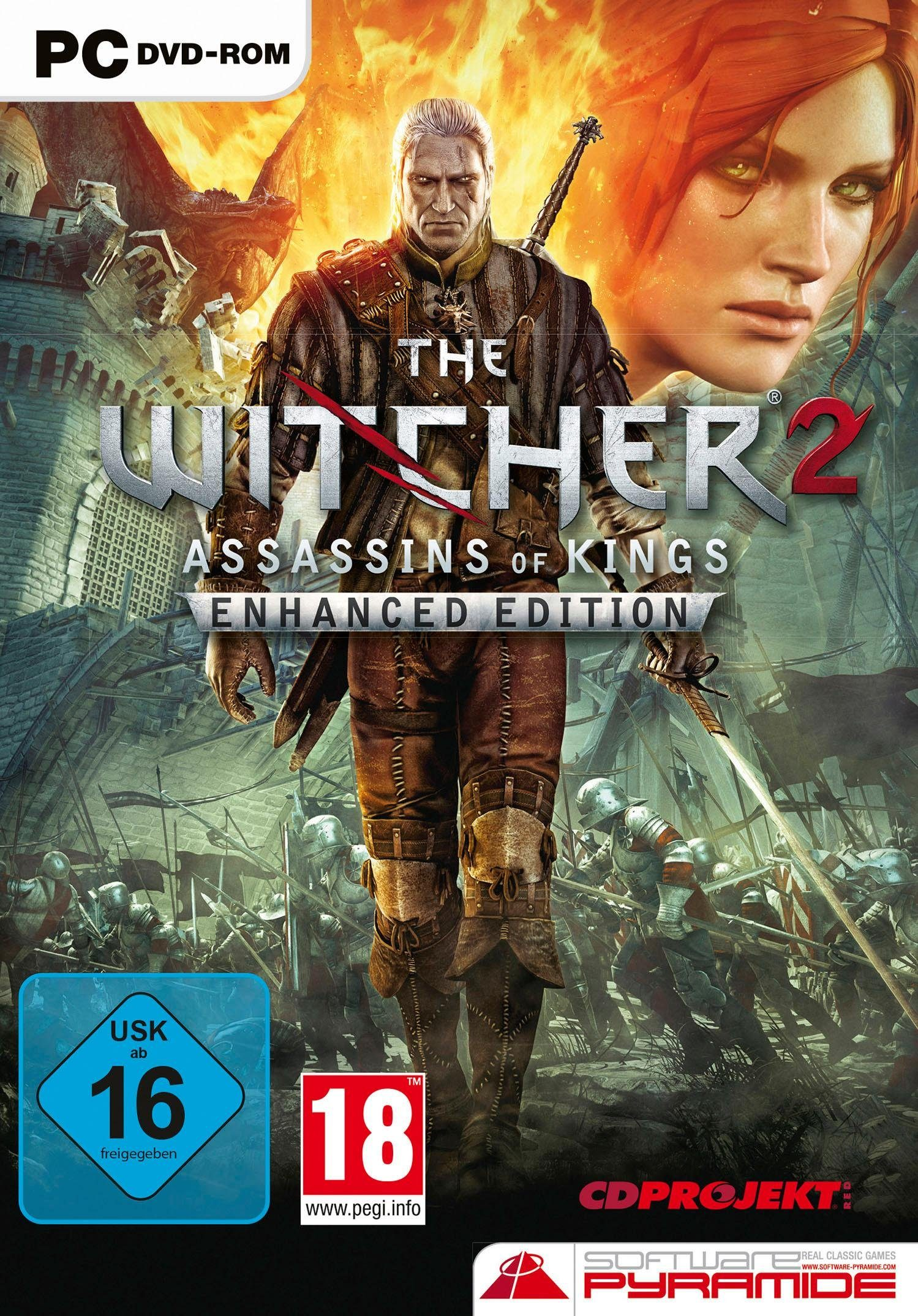 The Witcher 2: Assassins of Kings - Enhanced Edition PC, Software Pyramide