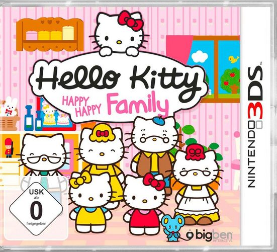 Hello Kitty: Happy Happy Family Nintendo 3DS, Software Pyramide
