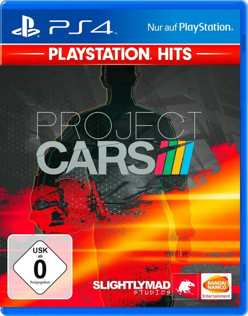 Project Cars PlayStation 4, Software Pyramide