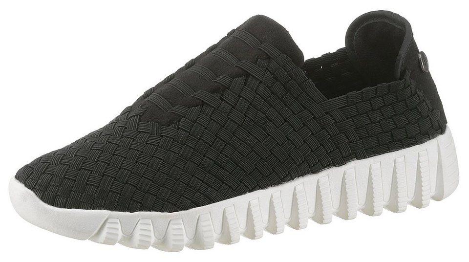 bf7a479b4d86ae BERNIE MEV Slip-On Sneaker mit auffälliger Profilsohle online kaufen ...