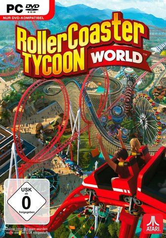 ATARI RollerCoaster Tycoon World PC