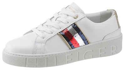 TOMMY HILFIGER »SANDIE« Sneaker mit weich abgepolstertem Schaftrand 11de33aa7d